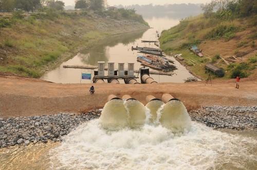Đồng bằng sông Cửu Long trước thách thức chuyển nước trên dòng Mê Kông