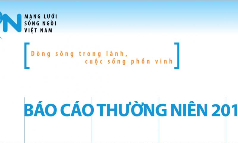 Báo cáo thường niên Mạng lưới Sông ngòi Việt Nam 2016