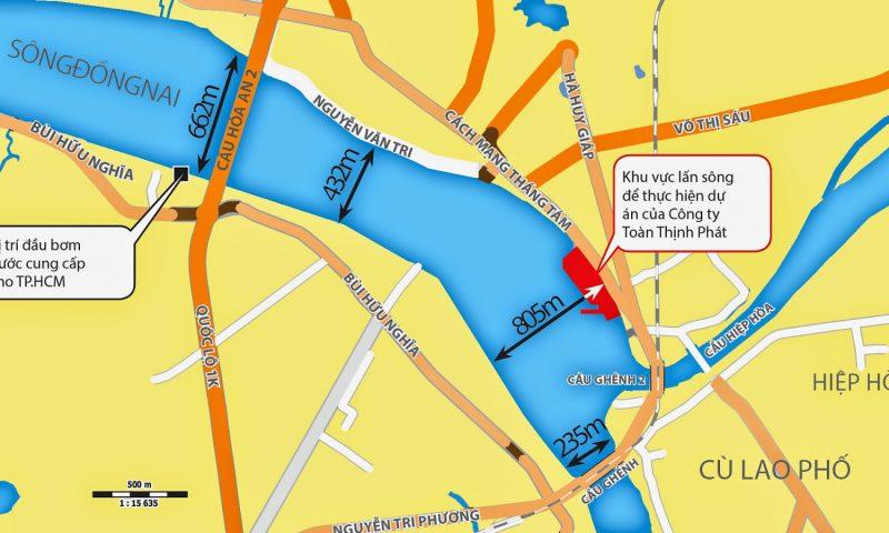 Thông tin cơ bản về dự án cải tạo cảnh quan và phát triển đô thị ven sông Đồng Nai