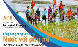 """VRN phát động cuộc thi ảnh """"Đồng bằng sông Cửu Long – Nước với Phụ nữ"""""""