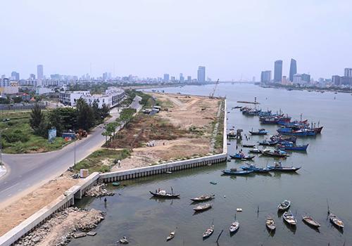 Đà Nẵng đang rà soát các dự án ven sông Hàn