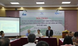 Conference promotes engagement in hydropower planning in Mekong basin
