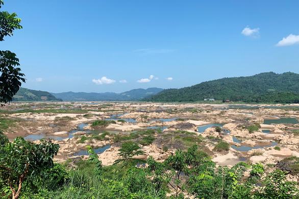Sông Mê Kông sẽ cạn nước nghiêm trọng trong tháng sau