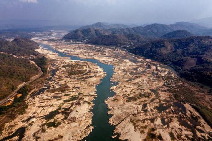 Ủy ban sông Mê Kông cảnh báo mực nước xuống thấp kỷ lục