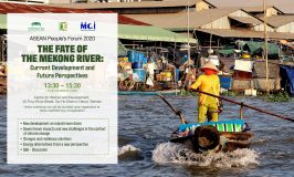 "Attend the workshop ""The Fate of the Mekong River: Current Development and Future Perspectives"" in Convergence Space of Ecological Sustainability."