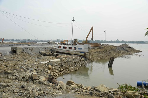 VRN opposes land reclamation in Dong Nai River
