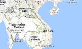 Bản đồ 10 lưu vực sông Việt Nam