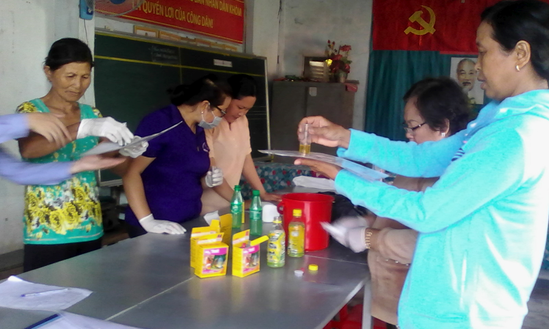 """""""Enhancing women's capacity in water resource management"""" project in Soc Trang City"""