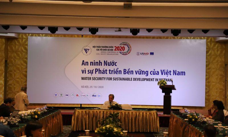 Tham dự Hội thảo thường niên các Tổ chức xã hội năm 2020 do Liên hiệp các Hội khoa học và Kỹ thuật Việt Mam chủ trì