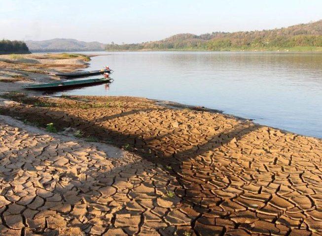 Nước sông Mê Kông thấp mức lo ngại vì đập thủy điện Trung Quốc